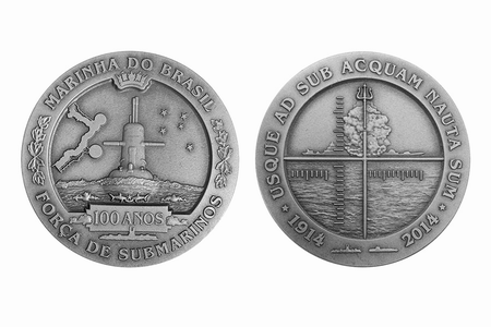 Medalha pelos 100 anos da Força de Submarinos