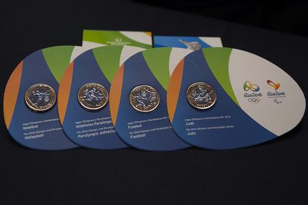Lançamento das moedas comemorativas da Rio 2016