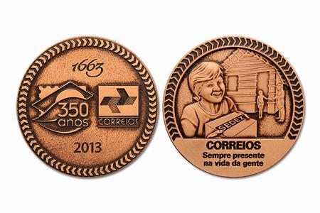 Medalha dos 350 anos dos Correios
