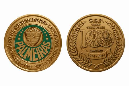Medalha dos 100 anos do Palmeiras