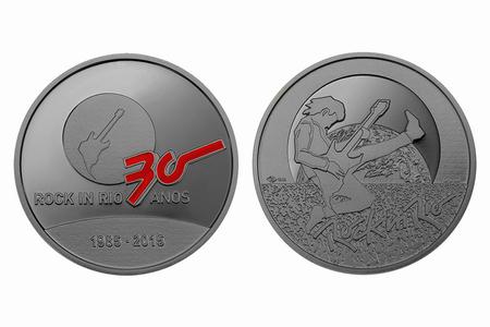 Medalha em comemoração aos 30 anos do Rock in Rio