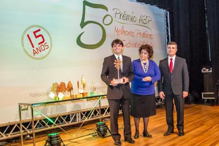 Prêmio Melhores Práticas de Sustentabilidade da A3P