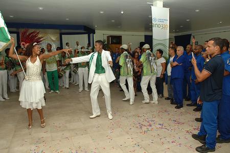 Show de integrantes da Escola de Samba Império Serrano