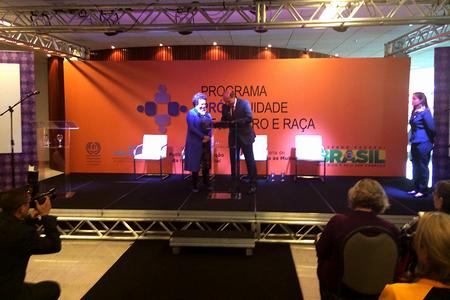 Presidente da Casa da Moeda e ministra Eleonora Menicucci assinam termo de compromisso em Brasília