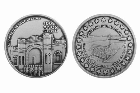 Medalha 100 anos do Forte de Copacabana