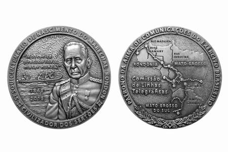 Medalha de prata do Marechal Rondon
