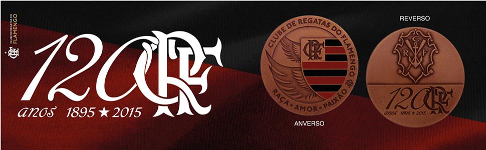 banner do 120 Anos do Clube de Regatas do Flamengo