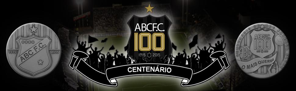 banner do centenário do ABC Futebol Clube