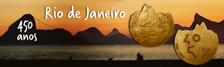 Medalha Rio 450 anos