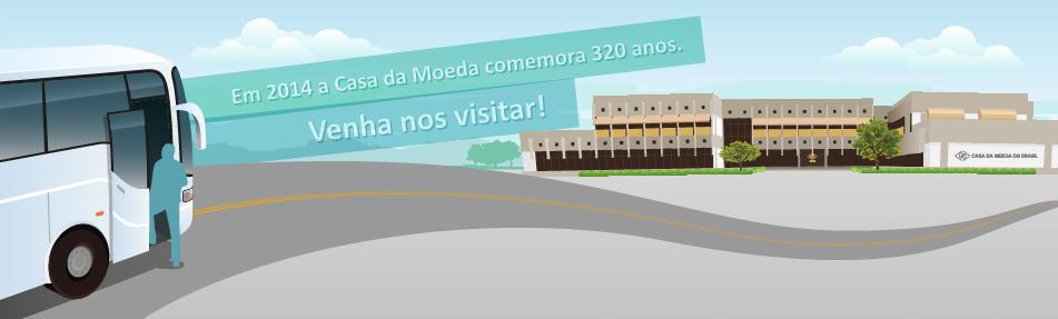 Entenda como participar do programa CONHEÇA A CASA DA MOEDA