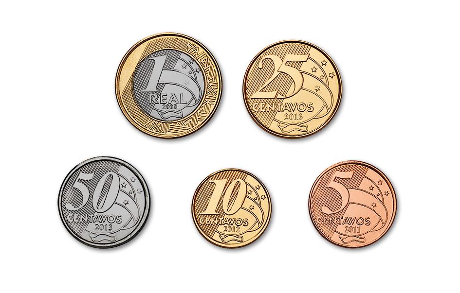 Resultado de imagem para moedas de real